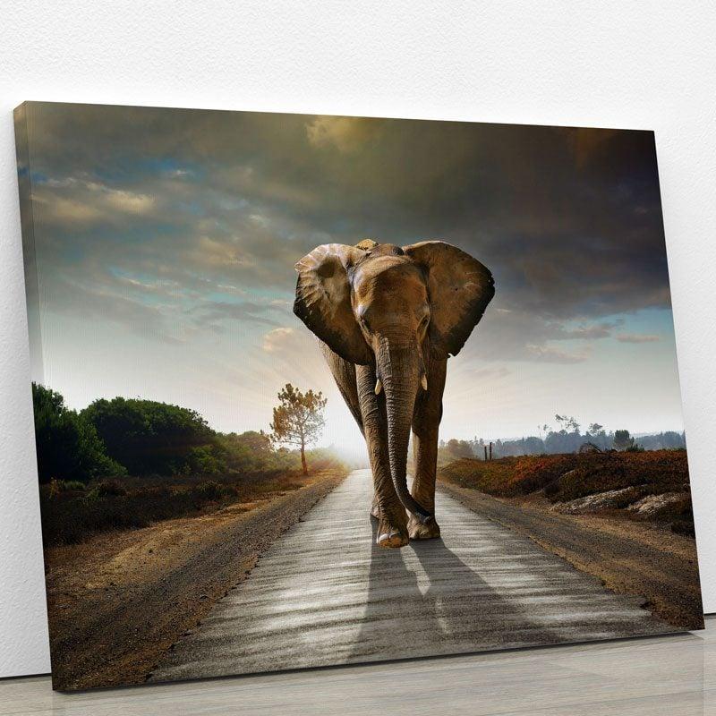 tableau-elephant-afrique-poster-animaux-decoration-murale-deco-artetdeco