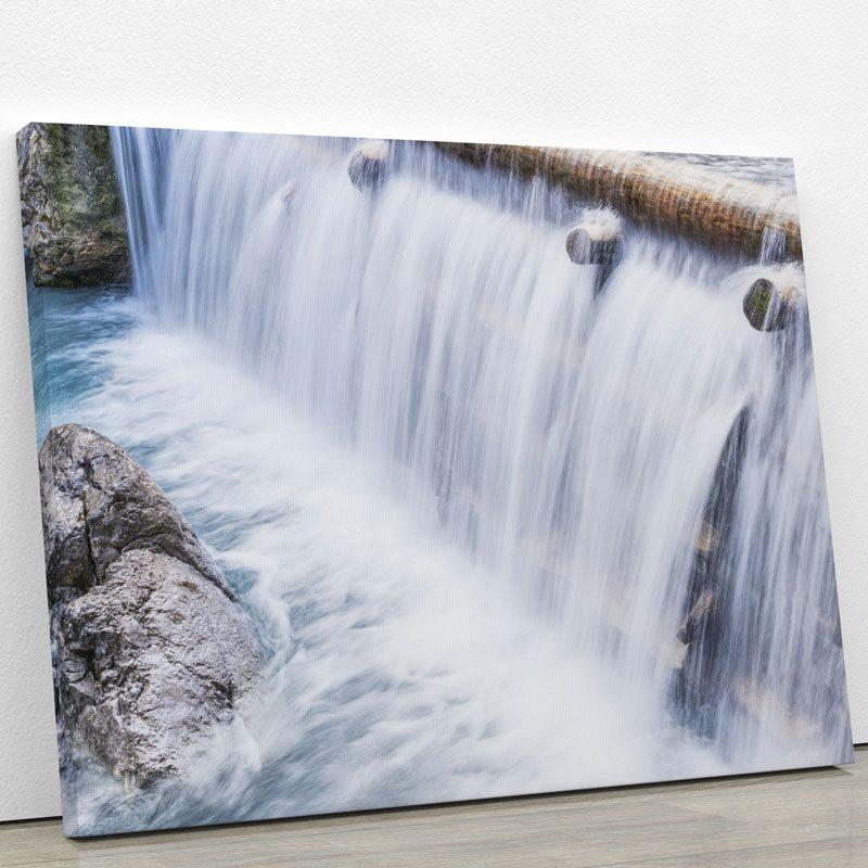 tableau-cascade-nature-rocher-deco-murale-artetdeco