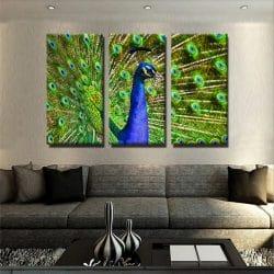 tableau-faon-animal-decoration-deco-murale-tableau-3-parties-artetdeco.fr
