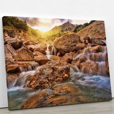 tableau-riviere-cascade-montagne-decoration-nature-tableau-grand-format-xxl-artetdeco