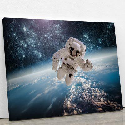 tableau-astronaute-galaxie-planete-decoration-murale-deco-