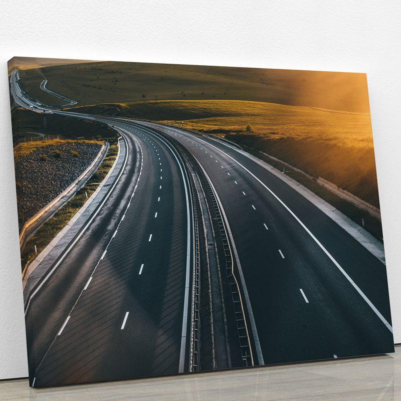 tableau-couche-de-soleil-et-autoroute-decoration-murale-artetdeco