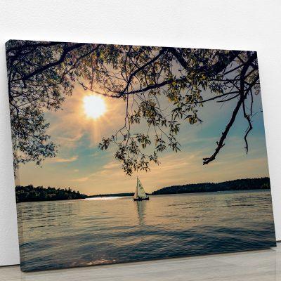 tableau-couche-de-soleil-lac-nature-poster-decoration-murale-artetdeco