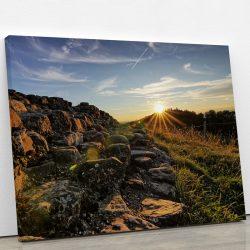 tableau-couche-de-soleil-nature-soleil-roche-artetdeco