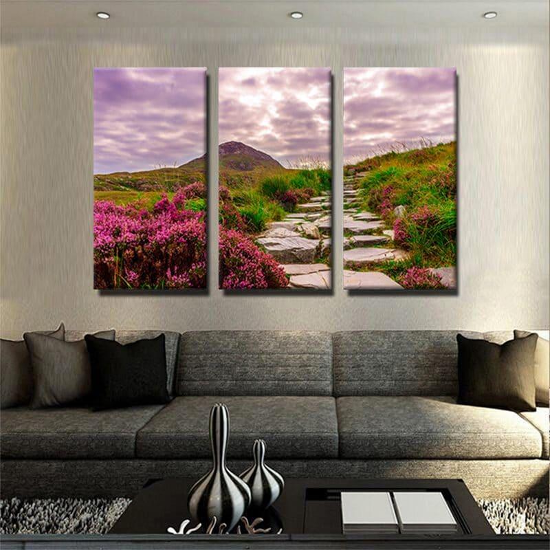 tableau-montagne-et-nature-decoration-murale-tableau-3-parties-artetdeco