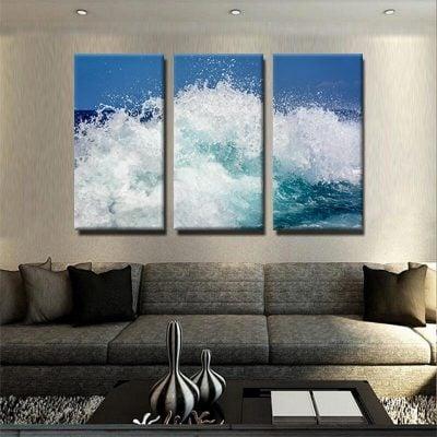 tableau-vague-ocean-mer-decoration-murale-deco-maison-nature-tableau-3-parties-3-panneaux-multi-parties-