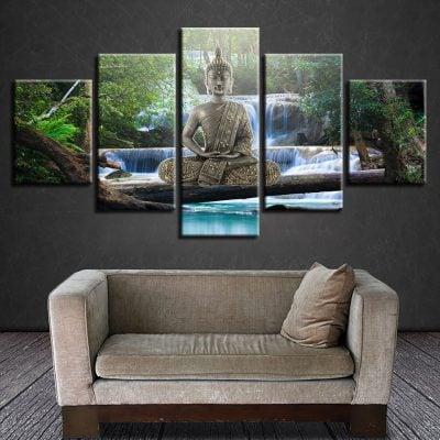 Tableau bouddha zen art 5 6732 8d87fa