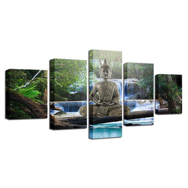 Tableau bouddha zen art 4 6732 c29250