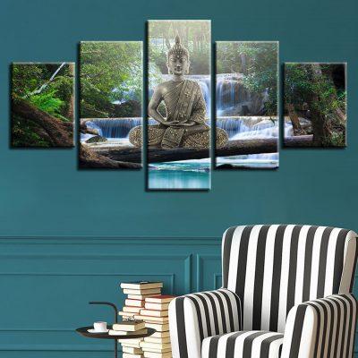 Tableau bouddha zen art 6 6732 d86102