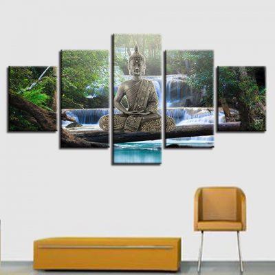 Tableau bouddha zen art 7 6732 f83811