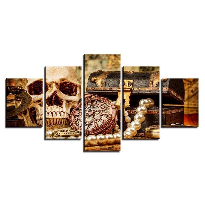 Tableau pirate tête de mort 4 6899 7a94cf