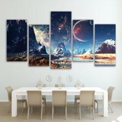 tableau galaxie