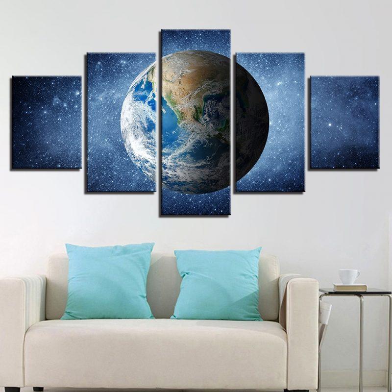 tableau planete terre