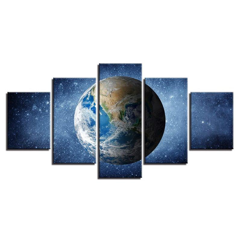 tableau cadre planete