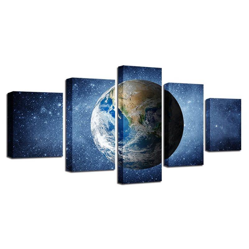 tableau cosmos planete