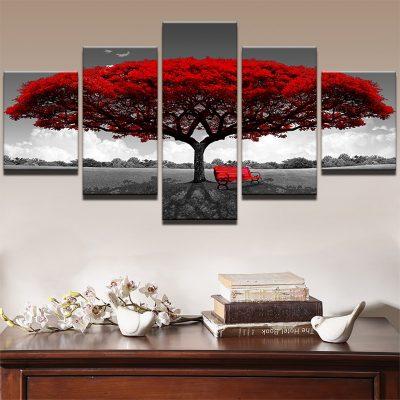 tableau-arbre-de-vie-rouge