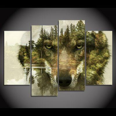 tableau loup