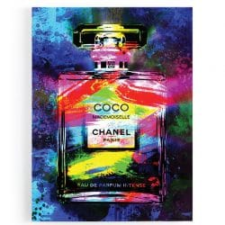 tableau coco chanel popart