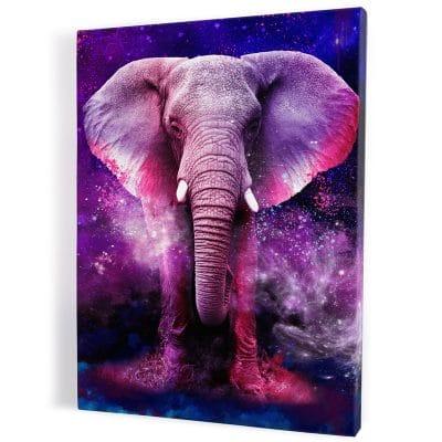 tableau-elephant-coloré