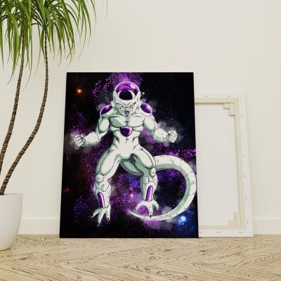 tableau freezer dragon ball z geek poster