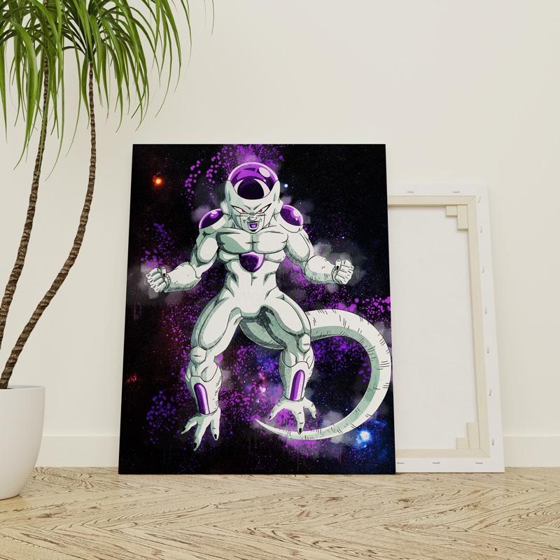 tableau freezer dragon ball z geek poster