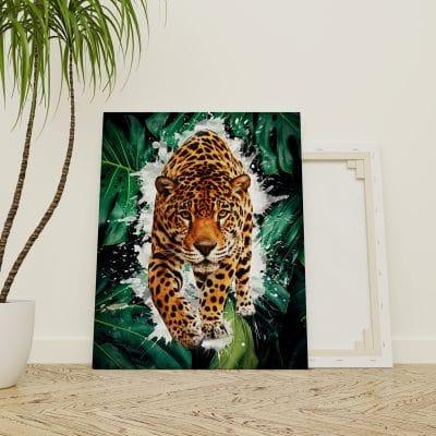 tableau leopard