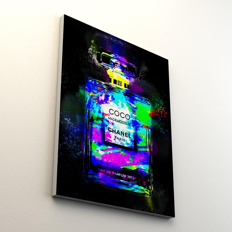tableau luxe brand pop art coco chanel