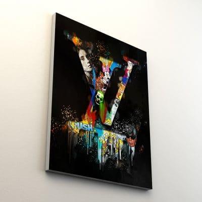 tableau lv pop art luxe coloré