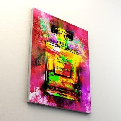 tableau-parfum-coco-bouteille-chanel