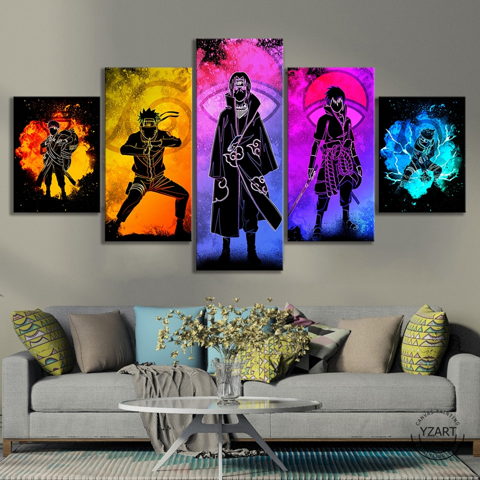 Tableau personnage Naruto