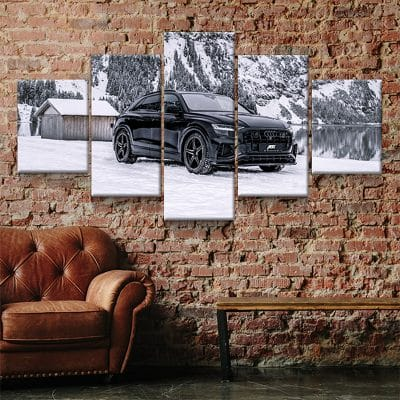 tableau toile poster audi sq8