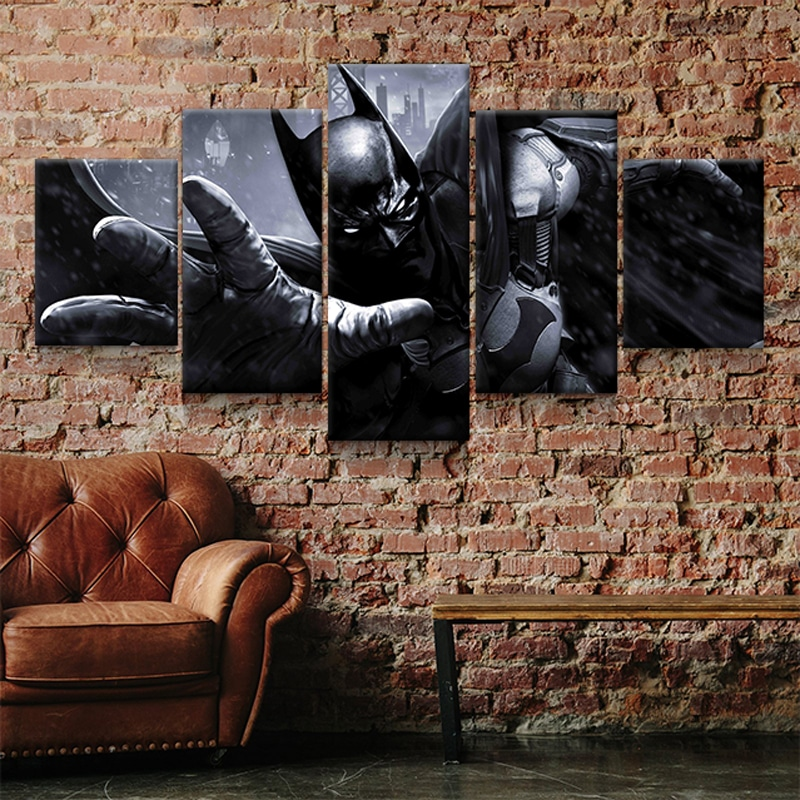 tableau toile poster batman