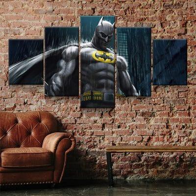 tableau peinture batman