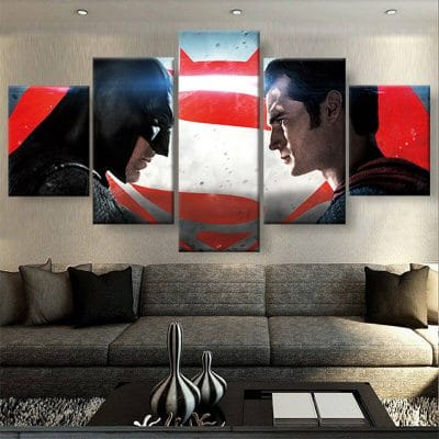 tableau batman vs superman