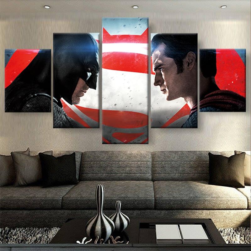 tableau batman vs superman