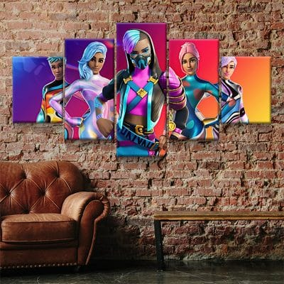 tableau fortnite 5 pieces