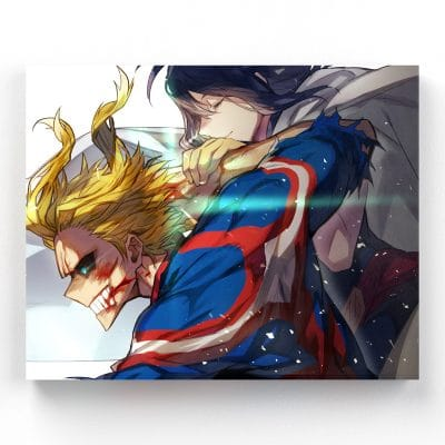 tableau-all-might-my-hero-academia-cadre-toile-poster-01-part