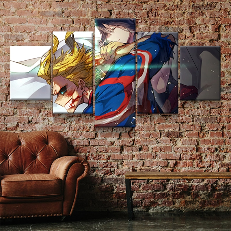 tableau-all-might-my-hero-academia-cadre-toile-poster-01